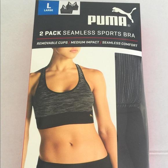 f0d498e5dd93 Puma 2 pack seamless sport bra. NWT. Puma. M 5a85cb88a6e3ea99f774ed07.  M 5a85cb8aa44dbe7011e10f9f. M 5a85cb8ba6e3ea051574ed09